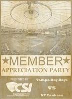 **Postponed ** CSI Tampa Bay 2015 Member Appreciation...