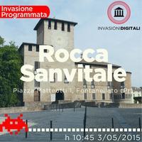 Invasione Digitale alla Rocca di Fontanellato (Pr)