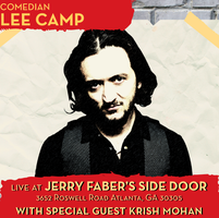 Comedian Lee Camp with Guest Krish Mohan