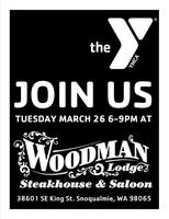 Dine Out for a Cause with the YMCA at the Woodman Lodge