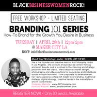 BBWR Free Workshop - Branding 101 Series