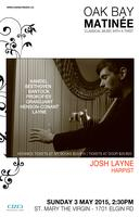 Oak Bay Matinée: An afternoon of Harp music with Josh...