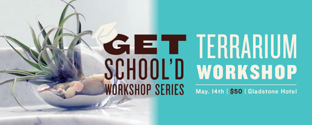Make a Terrarium | Get School'd Workshop Series