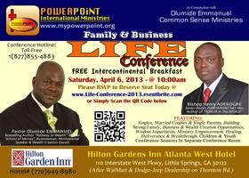 Family & Business LIFE Conference (Breakfast)