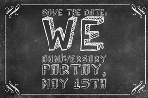 WE 1 YEAR ANNIVERSARY PARTY!