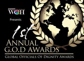 G.O.D. AWARDS (Global Officials of Dignity Awards)