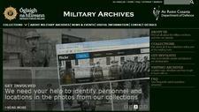 Military History Society of Ireland, Military Archives, National Museum logo