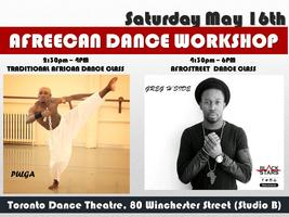 AFREECAN DANCE WORKSHOP