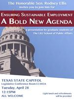 Ensuring Sustainable Employment - A Bold New Agenda at...