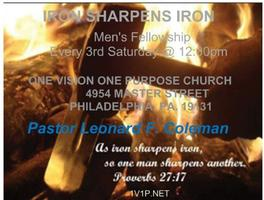 """IRON Sharpens IRON"" 3rd Saturday of the Month"