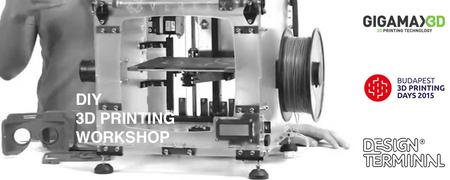 GigamaX3D DIY 3d printing workshop