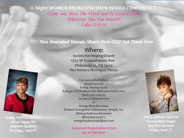 Women Broken/Women Whole 2 Day Conference
