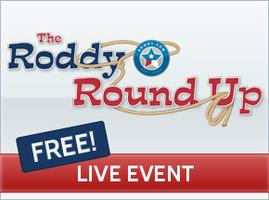 Roddy Round Up - FREE Investment Club **LIVE**