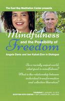 Video of Angela Davis & Jon Kabat-Zinn: East Bay...