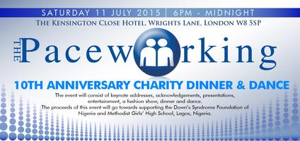 The Paceworking 10th Anniversary Dinner & Dance...