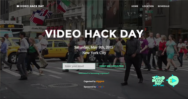 The Future of Web and Mobile Video // Video Hack Day...