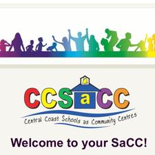 Central Coast Schools as Community Centre logo
