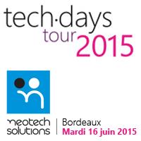 Microsoft Techdays Tour 2015 Bordeaux organisé en...