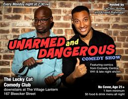 The Unarmed & Dangerous Comedy Show (FREE)
