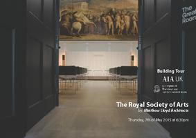 AIA UK Building Tour - Royal Society of the Arts