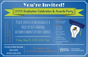 2015 Graduation Celebration & Awards Party
