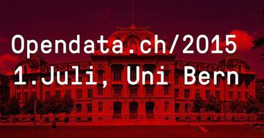 Konferenz/Conférence: Opendata.ch/2015