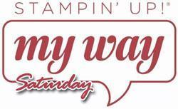 MyWay Stamping Saturday - July 2015
