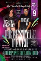 Freestyle Fever 2015 LIVE Johnny O & Lisette Melendez...