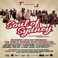 SOUL OF SYDNEY: Vivid Special feat. THE PUBLIC OPINION...