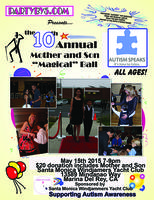 """Tickets to 10th Annual Mother and Son """"Magical"""" Ball"""