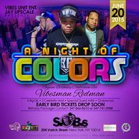 NIGHT OF COLOURS - CARIBBEAN SATURDAYS @ SOBS NIGHTCLUB