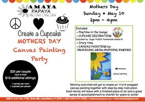 Mothers Day Canvas Painting Party
