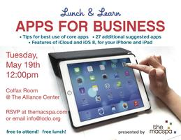 Lunch & Learn: Apps for Business, presented by...