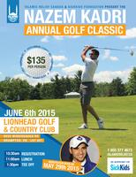 Nazem Kadri Golf Classic 2015 - DINNER ONLY
