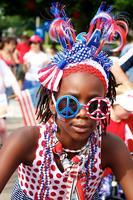 Young Realities Riders Patriotic Bicycle Parade