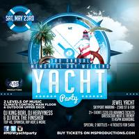 3rd Annual Memorial Day Yacht Party