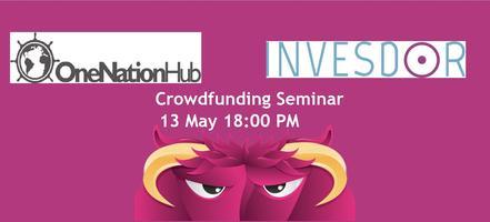 Crowdfunding Seminar @ OneNationHUB & Invesdor