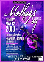 Mother's Day Concert Saxophonist Brandon Primus and Friends...
