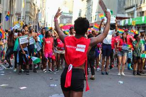 March with Immigration Equality at NYC Pride 2015