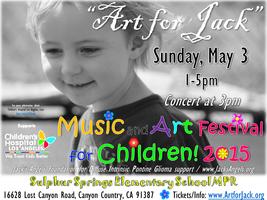 """""""Art for Jack"""" Music and Art Festival for Children"""