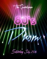 SF 80's Prom Supporting The Guardsmen