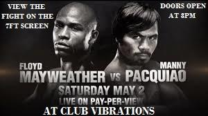 MAYWEATHER VS PACQUIAO FIGHT PARTY