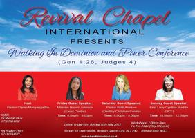'Walking in Dominion and Power' - Women's Conference
