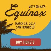 Vote Solar's 7th Annual Equinox Celebration