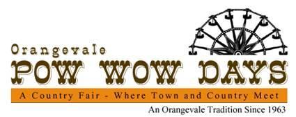 ORANGEVALE POW WOW DAYS -TOWN FAIR