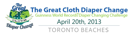 The Great Cloth Diaper Change Toronto Beaches 2013