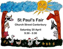 St Paul's Canterbury Annual Fair and Open Garden