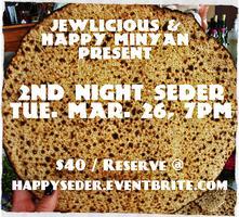 Jewlicious and Happy Minyan 2nd Night Seder