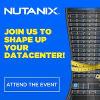 Nutanix Tour - Shape up your Datacenter - Padova, May...