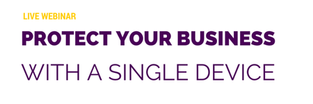 Protect your entire business with a single device